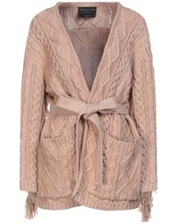 Mother Of Pearl Cardigan - Brown