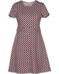 Twenty Easy By Kaos - Short Dress - Lyst