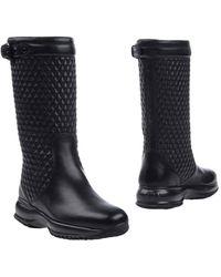 Hogan Rebel Knee Boots - Black