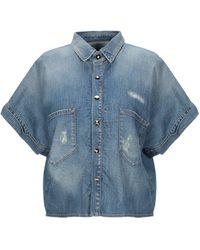 Philipp Plein Denim Shirt - Blue