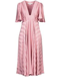 Golden Goose Deluxe Brand 3/4 Length Dress - Pink