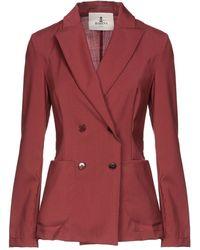 Barena Suit Jacket - Red
