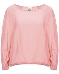 Attic And Barn Bluse - Pink