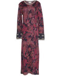 Roberta Scarpa Long Dress - Purple