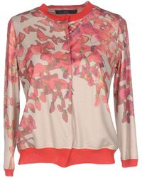 Blue Les Copains Sweatshirt - Pink