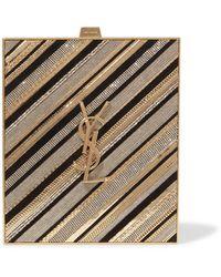 Saint Laurent Cross-body Bag - Metallic