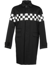 DSquared² - Single Breasted Checkboard Coat - Lyst