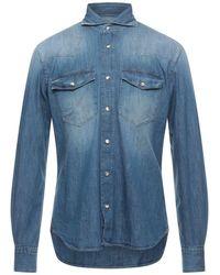 Windsor. Denim Shirt - Blue