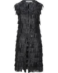 Caban Romantic Overcoat - Black