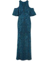 Elie Saab - Long Dress - Lyst