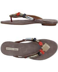 Tosca Blu - Toe Strap Sandals - Lyst