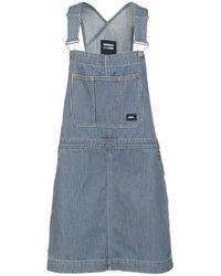 Dr. Denim Short Dress - Blue