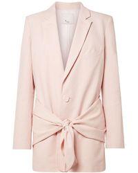 Tibi Suit Jacket - Pink
