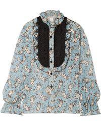 Anna Sui Shirt - Blue