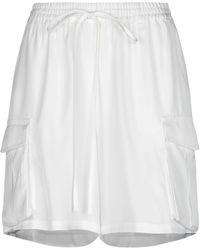 P.A.R.O.S.H. Shorts & Bermuda Shorts - White