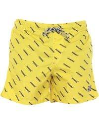 Daniele Alessandrini Homme Swimming Trunks - Yellow