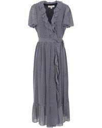 MICHAEL Michael Kors Midi-Kleid - Blau