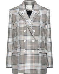 Maje Suit Jacket - Natural