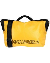 DSquared² Travel Duffel Bags - Yellow