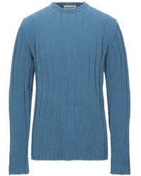Umit Benan Pullover - Blau