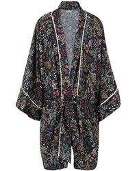 Underprotection Dressing Gown - Black