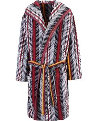 KENZO Towelling Dressing Gown - Multicolour