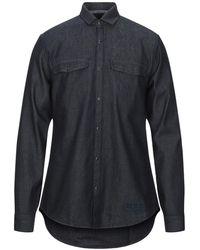 Armani Exchange Denim Shirt - Blue