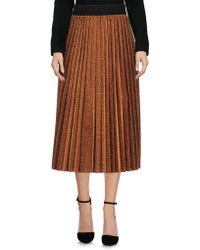 Eyedoll - 3/4 Length Skirt - Lyst