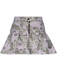 Giamba Mini-jupe - Violet