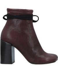 MM6 by Maison Martin Margiela Ankle Boots - Brown