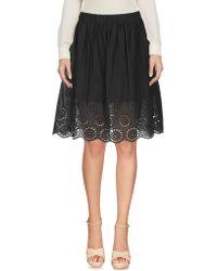 Blugirl Blumarine - Knee Length Skirt - Lyst