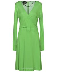 Class Roberto Cavalli - Knee-length Dress - Lyst