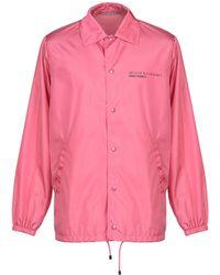 Valentino Lange Jacke - Pink