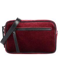 Pierre Darre' Cross-body Bag - Red