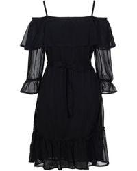 Gestuz Short Dress - Black