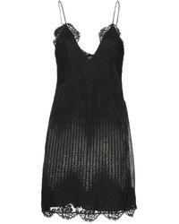 Versace Kurzes Kleid - Schwarz