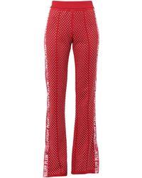 Philipp Plein Trousers - Red