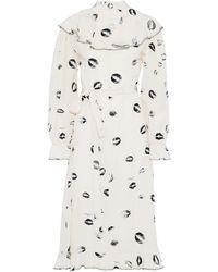 Sonia Rykiel Midi Dress - Natural