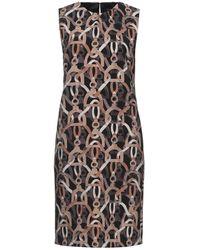 Luisa Cerano Knee-length Dress - Black