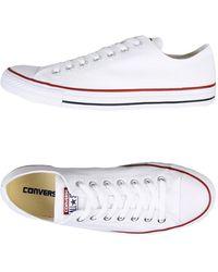 Converse - Low Sneakers & Tennisschuhe - Lyst