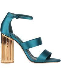 Ferragamo Sandales - Bleu
