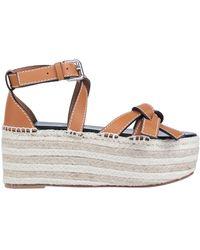 Loewe Sandals - Brown