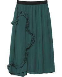 I'm Isola Marras 3/4 Length Skirt - Green