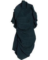 Carmen March Short Dress - Blue