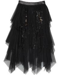 Pianurastudio Long Skirt - Black