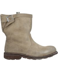 Bikkembergs Ankle Boots - Natural