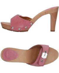 Scholl Mules - Pink
