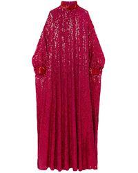 Ashish Long Dress - Red