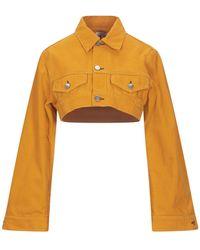 Ganni Denim Outerwear - Orange