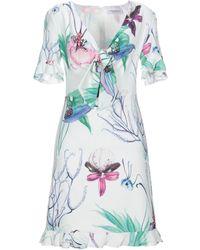 Anna Rachele Short Dress - White